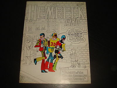 HEMBECK 1980 - Fantaco after Eclipse Comics  FN/VF