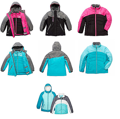NEW Gerry Girls' 3-in-1 Systems Jacket with Beanie