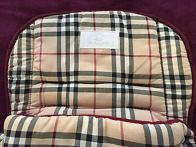Burberry Cosytoes  Designer Babies Pram Foot Muff Cosy Toes Boys or Girls