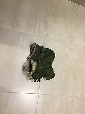 """M51  parka  HOOD, """"THINNER FABRIC""""USED A+++,""""C"""" TO IDENTIFY"""