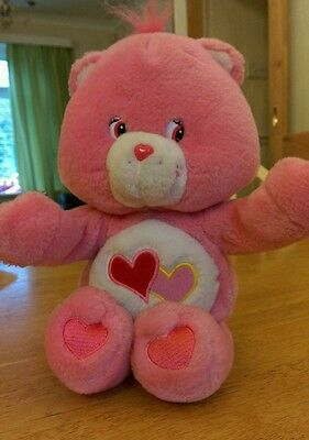 Love A Lot Care Bears Soft Plush toy - Talking & Hugging (VGC) FAST DELIVERY!