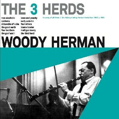 3 Herds - Woody Herman (2011, CD NEUF)