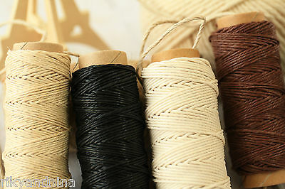 East of India small HEMP SPOOL craft parcel gift wrap tag string yarn roll 18m
