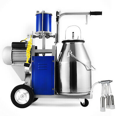 Electric Milking Machine For farm Cows Bucket 304 Stainless Steel Bucket