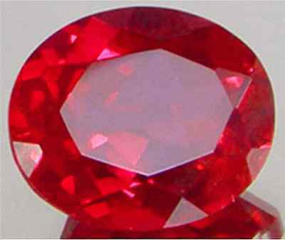 UNHEATED 4.65Ct VVS PIGEON BLOOD RED RUBY 9x11mm OVAL CUT AAAA+ LOOSE  GEMSTONE