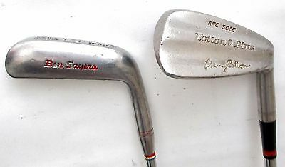 Ben Sayers Rustless Putter Henry Cotton PW Vintage Golf Clubs Made in Scotland