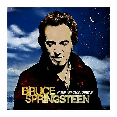 BRUCE SPRINGSTEEN Working On A Dream 2 x 180gm Vinyl LP 2015 NEW Sony Legacy