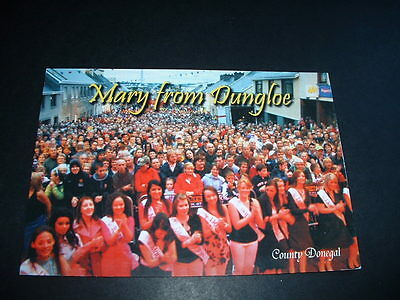 IRISH. POSTCARD MARY FROM DUNGLOE Co DONEGAL  IRELAND