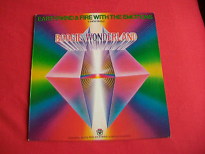 "Earth,wind & Fire With The Emotions - Boogie Wonderland Uk 12"" - Excellent Cond."
