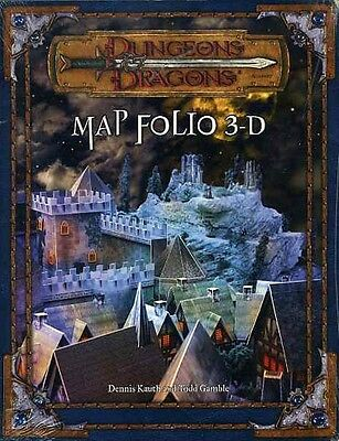 MAP FOLIO 3-D SEALED NEW 17927 SHRINK-WRAPPED D20 D&D v3.5 DUNGEONS & DRAGONS