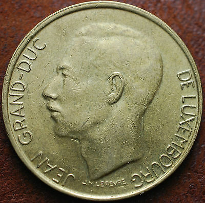 1987  Luxembourg  5 Francs  Jean  G.D.