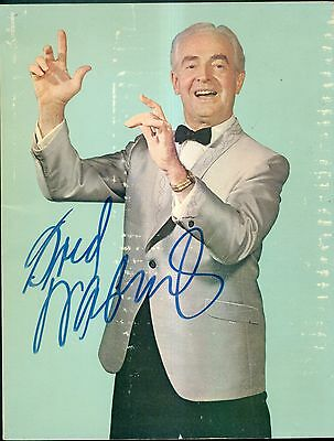 1966 Fred Waring and The Pennsylvanians Original Signature on Photobiography