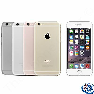 """Unlocked Apple iPhone 6S 4.7"""" A1688 16GB 64GB Silver Space Gray Gold GSM"""