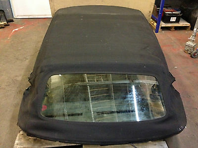 Audi A3 Convertible Cabby 2008-2013 Complete Hydrulic Soft Top Roof In Black