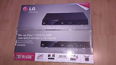 LG HR925 BlueRay DVD Player Recorder with HDD (500GB)