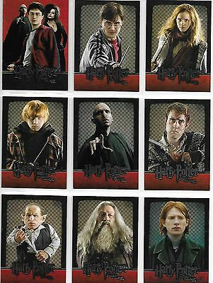 Harry Potter and the Deathly Hallows Part 2 Complete 54 Card Base Set