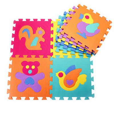 10 PCS Baby Kid Crawling Mat Floor Puzzle Children Educational Foam Toy Gift