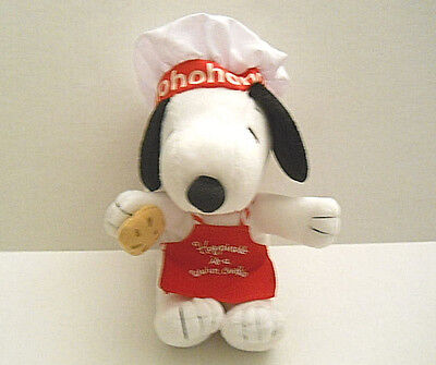 Hallmark Plush Chef Baker Snoopy Happiness Is A Warm Cookie Peanuts 2011