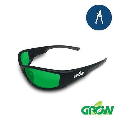 Grow1 GRUVE LED Glasses Grow Room Ultra Violet Eliminators STOP LIGHT HEADACHES