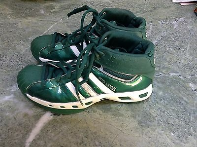 Adidas Pro Model High Top Basketball Shoes WOMENS Size 10 Green