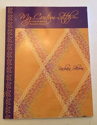 2002 Brother Pacesetter Owners Guide Book My Custom Stitch Sewing Embroidery