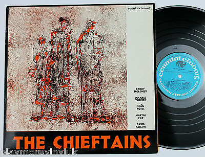 THE CHIEFTAINS (1) self-titled debut LP 1973 Claddagh CC2