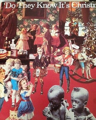 Band Aid 'Do They Know It's Christmas Time, Feed The World '12 Vinyl Single