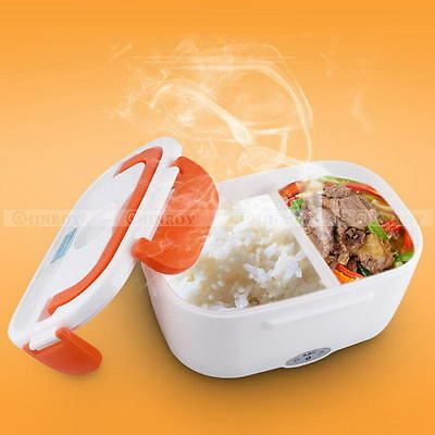 Portable Electric Heated Food Warmer Box Container Lunch Hot Meal Lunchbox