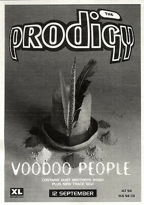 Newspaper Clipping/advert 17/9/94Pgn29 Prodigy : Voodoo People