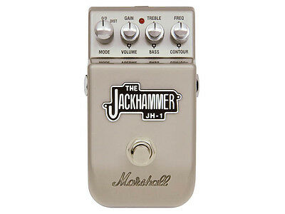 Marshall Jackhammer JH-1 pedale effetto overdrive distortion distorsore chitarra