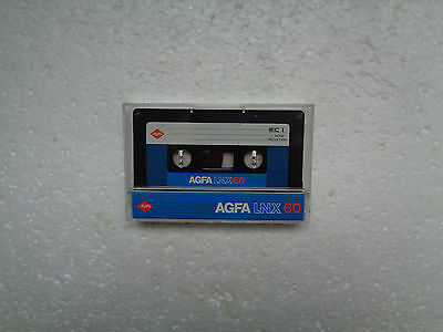 Vintage Audio Cassette AGFA LNX 60 From 1982 - Fantastic Condition !!