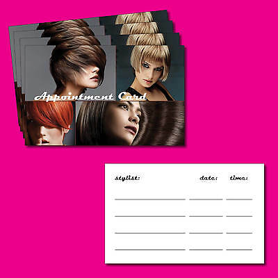 Hair / Beauty Salon Appointment cards pack of 100