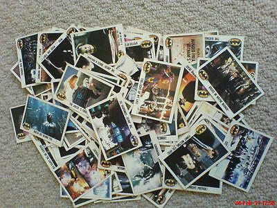 Batman The Movie Trading Cards Classic Retro Vintage Collectable