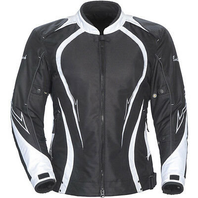 Cortech Womens LRX Series 3.0 Textile Street Motorcycle Jacket