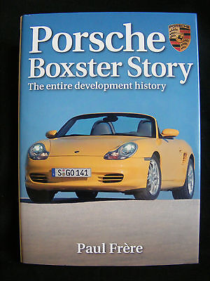 Haynes Porsche Boxster Story The Entire Development History by Paul Frere FREEPP