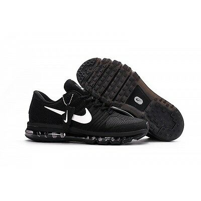 NIKE AIR MAX  BLACK 2017 Men's Running Trainers Shoes Sneakers Size 10