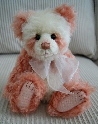 Charlie Bears 10th Anniversary Kylie Isabelle Lee Mohair Jointed Teddy Bear