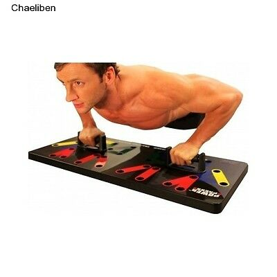 Push Up Power Press Complete Push Up Training System  DVD Included Portable