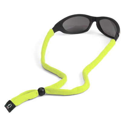 Chums Original Standard Hi-Viz Yellow Cotton Eyewear Retainer