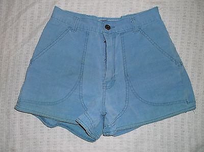 Women's VTG PATAGONIA shorts blue sz. 8 Athletic walking Cotton W 25""