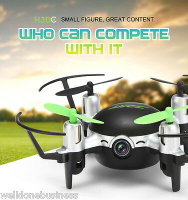 JJRC H30C Mini 2MP CAM 2.4GHz 4CH 6 Axis Gyro Quadcopter CF Mode with Light UK