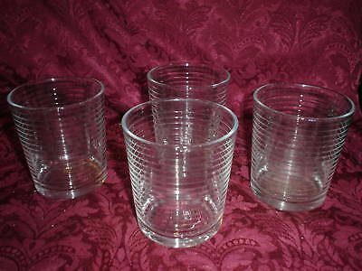 4 Ring Clear Glassware 12oz