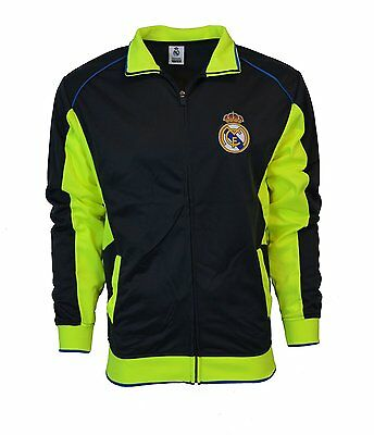 REAL MADRID Track Jacket Official Merchandise ADULT, 2016 SEASON, NEW Ronaldo