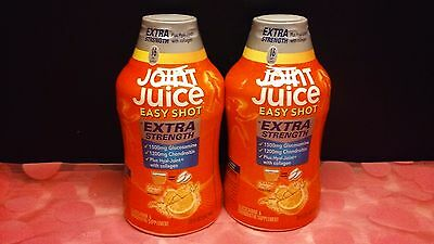 2 x Joint Juice Easy Shot Glucosamine & Chondroitin Supplement 20oz ea