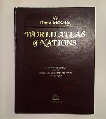 Rand Mcnally World Atlas Of Nations April 1989