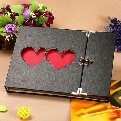 Hollowed Heart Love Photo Photography Album Scrapbook DIY Gift Anniversary 10''