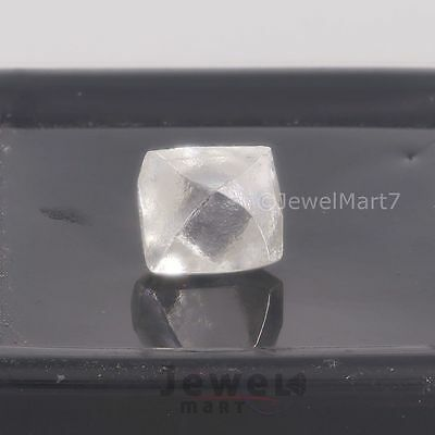 New Arrival White Moissanite Rough Crystal 1.72 ct Can Used As Diamond Simu. JM