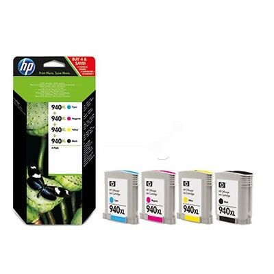 Pack de 4 cartuchos original HP 940XL combo CN93AE