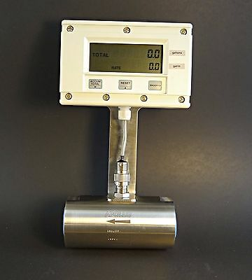 Contrec 202Di.20 Programmable with Apollo Stainless RN3 Axial Turbine Flowmeter