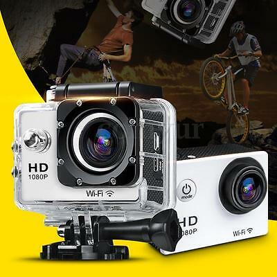 Mini 12MP Ultra HD 1080P Waterproof Action Camcorder Sports DV Camera Car Cam US